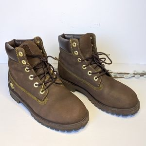 Timberland boots size 5 men's size 7 womens
